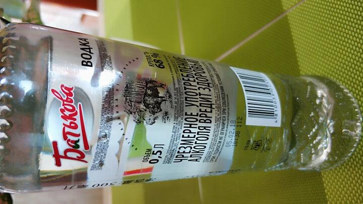 白俄罗斯洋酒 高度烈酒 巴特克伏特加酒 500ml 68度*6瓶 晒单图