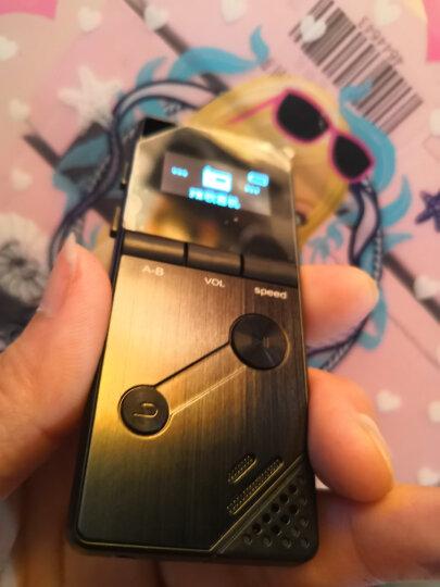 山水(SANSUI)录音笔 学生会议取证高清录音专业降噪 微型迷你MP3播放器 F9 8G 黑色 晒单图