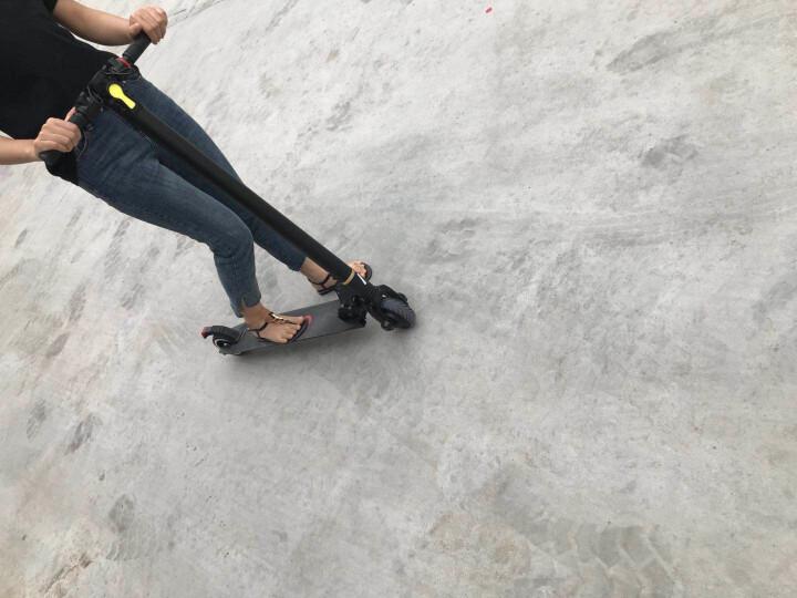 领奥 电动滑板车成人折叠电动车 城市智能便捷超轻踏板代驾自行车两轮锂电池迷你助力电瓶车男女代步车 【36V-20KM加强版】定速巡航+双减震+防爆胎 晒单图