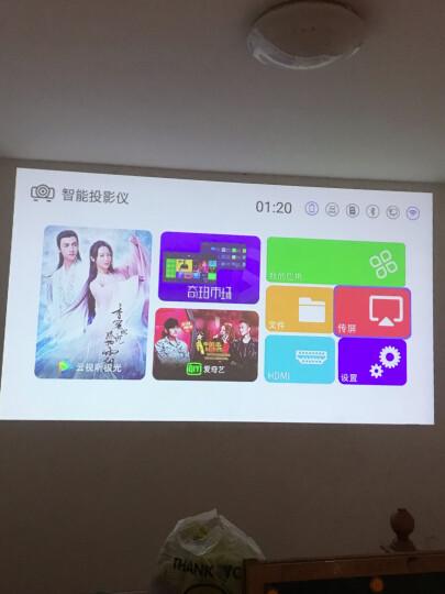 【3倍亮度提升】澳典(AODIN) 微型手机投影仪家用 全高清办公便携迷你wifi投影机 智能影院 白色升级版T13   2G+16G 晒单图