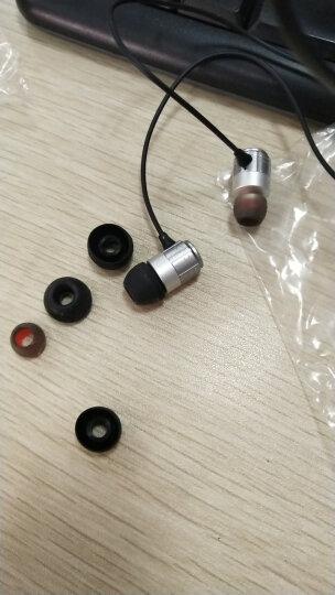 纽曼 Newmine NM-JK12金属通用入耳式手机耳机音乐游戏通话运动跑步线控耳机耳塞兼容手机平板电脑等 灰色 晒单图