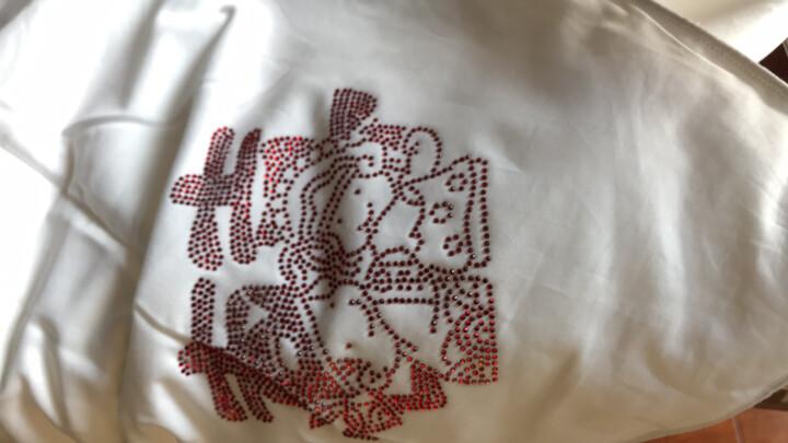 罗莱家纺 LUOLAI 被芯 100%桑蚕丝被 四季通用 婚庆喜被 全棉面料 永结同芯桑蚕丝春秋被 1.8米床 220*250cm 晒单图