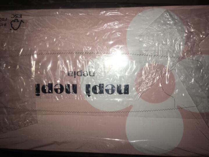 妮飘(nepia)抽纸nepi nepi 盒装超柔160抽盒抽*5盒纸巾(日本原装进口) 晒单图