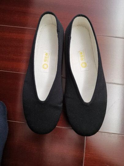 同升和 老北京布鞋传统手工皮底礼服呢男士布鞋 贴掌小元 43 晒单图