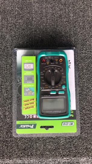 宝工(Pro'sKit)MT-1210-C 3 1/2经济型数字型万用表数显表 多功能电表 手动量程 晒单图