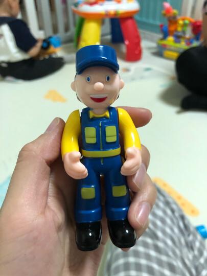 汇乐玩具(HUILE TOYS) 汽车玩具卡车工程车校园巴士全能救护车警车男孩女孩玩具 快乐迷你方向盘(音乐/灯光)916 晒单图