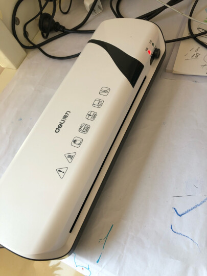 得力(deli)2897 适用A6简洁时尚静音型塑封机 过塑机 冷热裱 晒单图