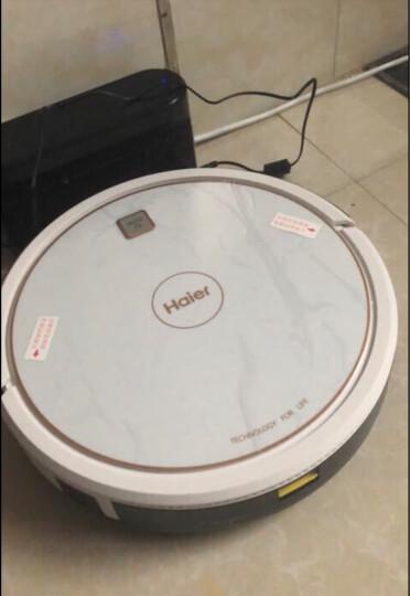 海尔(Haier) 扫地机器人家用全自动湿扫拖一体机擦地吸尘器京东APP智控规划清扫吸小米粒 探路者 510S 晒单图