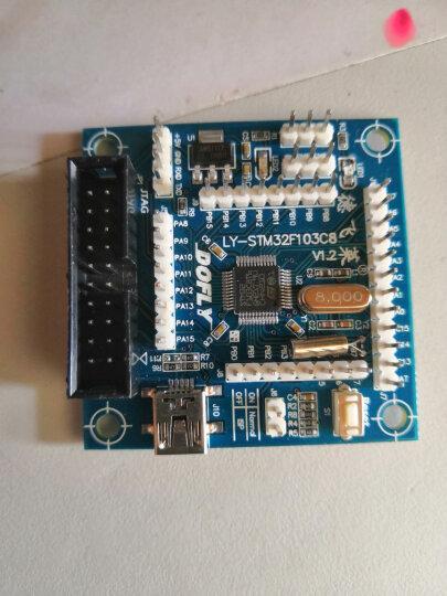 德飞莱 STM32F103C8T6开发板 ARM学习板 单片机开发板 核心板 晒单图