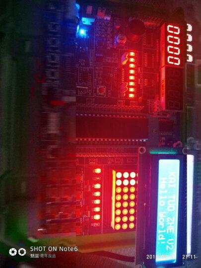 德飞莱 51单片机开发板 51单片机学习板 实验板 stc89c52 套件 单片机 晒单图