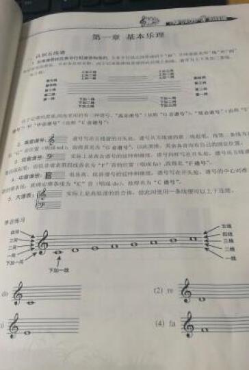 从零学音乐入门丛书:从零起步学五线谱(第2版) 晒单图