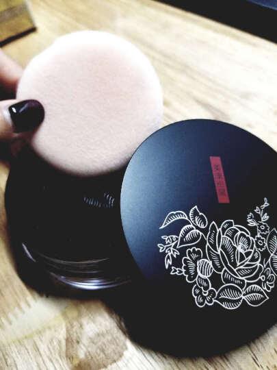 美康粉黛 玫瑰植物散粉 (持久控油 定妆 粉蜜 晚安粉 免洗头 白皙 遮瑕 不卸妆) 晒单图