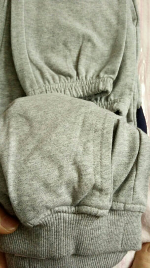 铅笔俱乐部童装女童运动裤男童中大童休闲长裤儿童裤子潮 宝蓝 150cm 晒单图