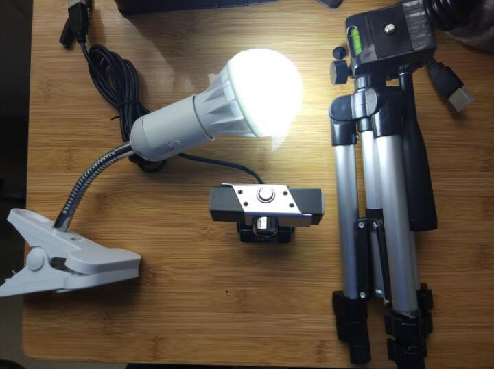 高清晰电脑摄像头 直播主播吃鸡视频台式笔记本网络通话智能美颜带麦克风 M2200(家用高清带LED补光灯) 晒单图