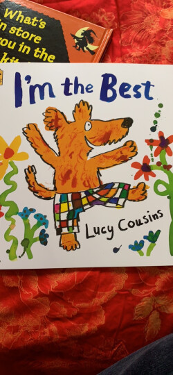 Silly Sally Board Book 倒着走的女孩 英文原版 晒单图