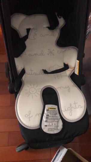 爱音(Aing)3D透气蜂巢凉垫儿童餐椅四季通风座垫婴儿推车凉席童车垫天空日记 晒单图