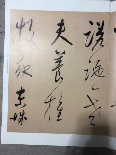董其昌草书唐诗二首(彩色放大本中国著名碑帖·第八辑) 晒单图