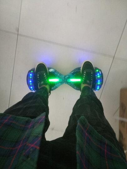 阿尔郎(AERLANG) 成人智能双轮电动平衡车代步体感车蓝牙平衡车儿童扭扭车两轮思维车 升级款(APP操控+新款手提+蓝牙音乐)迷你白 晒单图