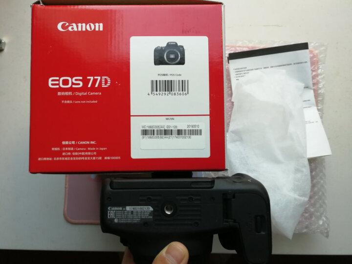 佳能(Canon)EOS 77D 单反机身 晒单图