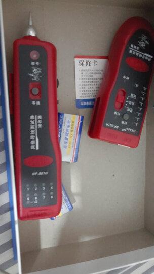 精明鼠(noyafa)NF-168寻线仪 测线仪 网线查线仪 寻线器 巡线仪 追线器 网线测试工具检测器 晒单图