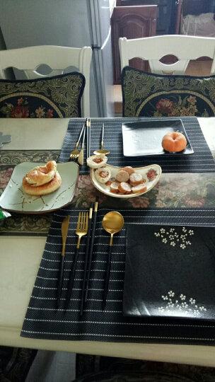 Bestart 西餐餐具304不锈钢牛排刀叉勺甜品勺四件套组合 晒单图