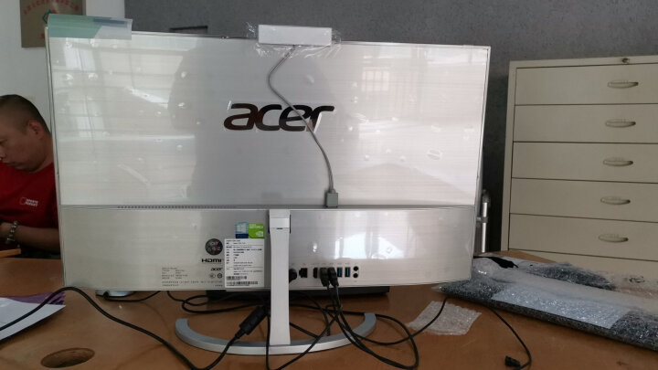 宏碁(Acer) AZ1620-600 21.5英寸一体机电脑(N3700 4G 500G 920M 2G独显 Win8.1 DVD刻录 键鼠 全高清 ) 晒单图