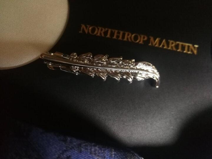 诺斯马丁2019男士领带正装婚礼领结领带夹配饰套装礼物男 奢华主义麂鹿礼盒装 含袖扣 晒单图