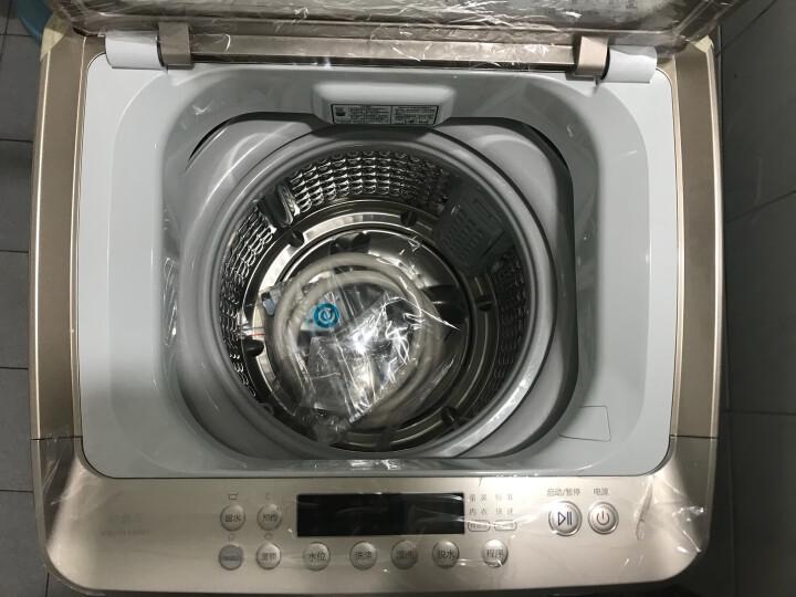 海尔(Haier)波轮全自动洗衣机免清洗双动力直驱变频智能WIFI精准投放无外桶洗衣机 MW100-BD996U1【新品】 晒单图