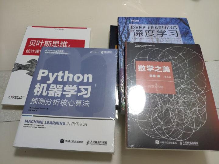 Python机器学习 预测分析核心算法 晒单图