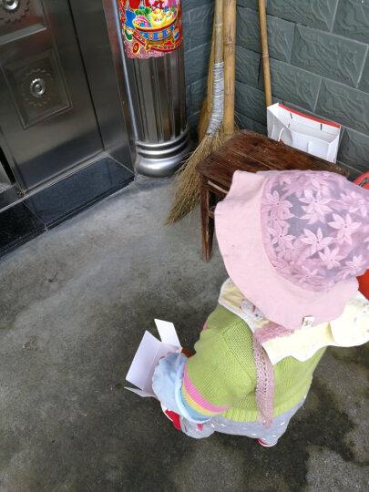 贝迪牛婴儿帽子夏季网格花边胎帽新生儿镂空公主帽系带防风防晒遮阳帽子0-2岁 藕粉小球兔耳网盆帽(帽围46cm) 3-12个月 均码 晒单图
