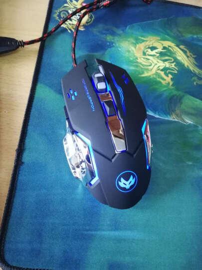 火银狐 牧马人3代鼠标 电竞有线USB笔记本台式机 静音非无声(刺激战场吃鸡绝地求生 游戏鼠标) 3代牧马人无声黑鼠标+键盘套装 晒单图