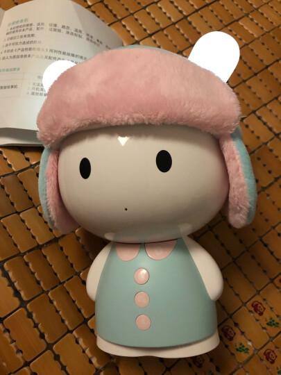 小米米兔智能故事机 儿童智能机器人 男孩女孩益智玩具 0-1-3-6岁点读机 学习机 蓝色二件套 晒单图