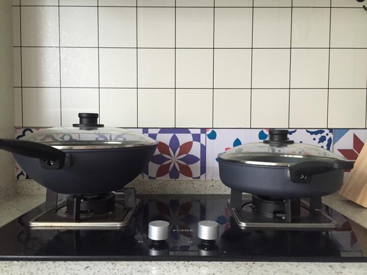 弗欧(WOLL) 不粘锅炒锅 / 平底锅 德国制造 钻石系列 锅具 2件套 双锅大口径 晒单图