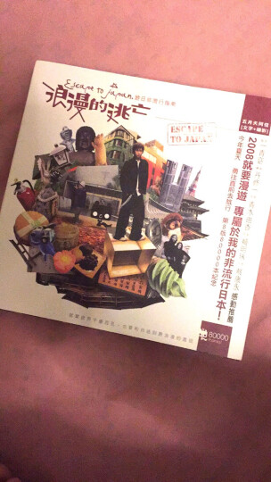 浪漫的逃亡:遊日非流行指南 港台原版 晒单图