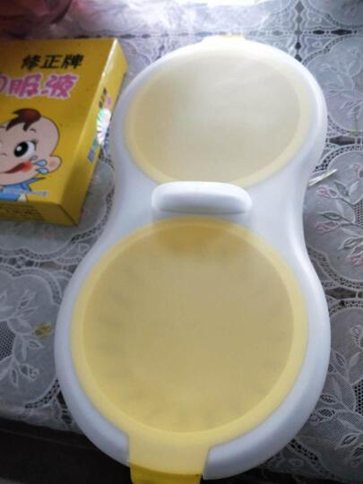微波炉专用蒸蛋器 煎蛋煮蛋器煎蛋盒器皿蒸笼 亮黄色 晒单图