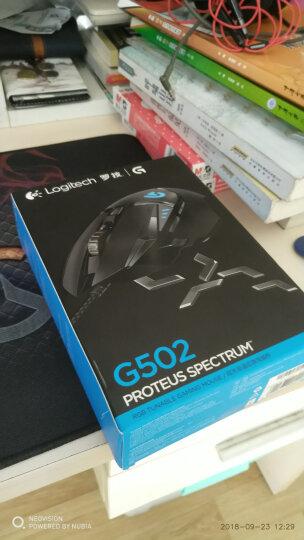 罗技(G)G502 炫光自适应游戏鼠标 RGB鼠标 FPS鼠标 吃鸡鼠标 绝地求生 晒单图