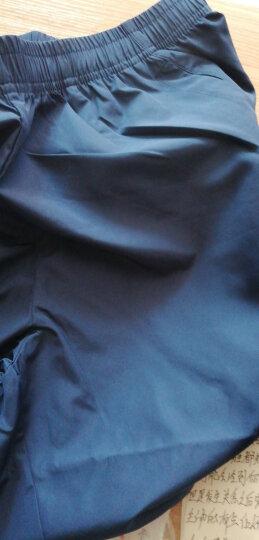 安踏短裤男运动裤夏季新品男裤休闲卫裤黑色新款五分裤透气男士跑步健身裤训练网球裤 梭织短裤-黑色-1 L(男适合175) 晒单图