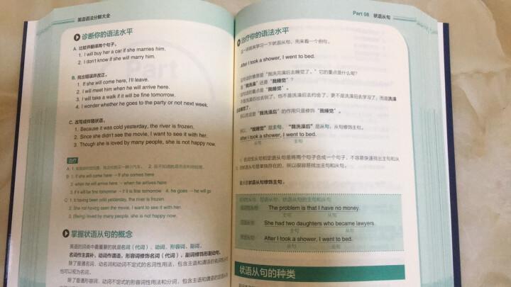 连老外都在用的英语大全集!(单词+会话+语法+句型)(套装全4册) 晒单图