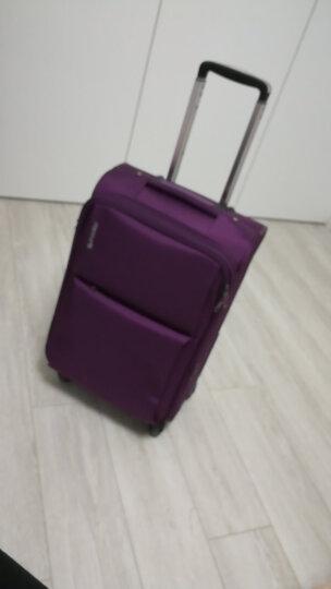 汉客(HANKE)拉杆箱万向轮旅行箱耐磨男女行李箱子登机箱配密码锁 红色 26英寸 晒单图
