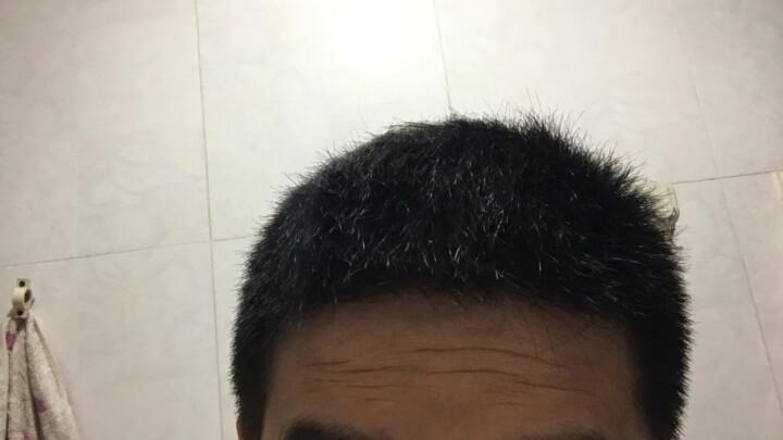 温雅 染发剂植物一梳黑 染发膏 焗油膏黑色染膏自然黑温和 栗黑100mlx2 晒单图