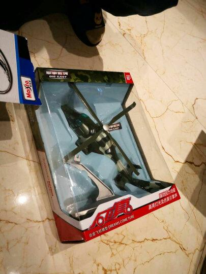 合金飞机玩具A380空中客机战斗机直升机歼20仿真模型声光回力儿童玩具宝宝男孩礼物 歼10战斗机-颜色随机发 晒单图