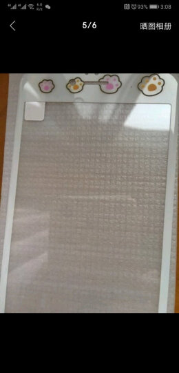 【买二送一】今首为 苹果6s钢化膜卡通彩膜3D全屏覆盖防指纹iPhone6plus手机膜女 6plus-5.5英寸-大耳兔子 晒单图