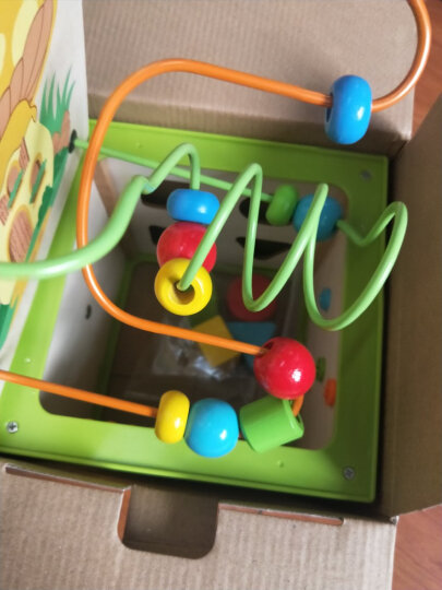 铭塔(MING TA)启蒙大串珠 串珠绕珠儿童益智玩具 婴幼儿宝宝早教启蒙盒装 晒单图