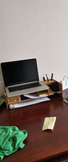 酷奇(cooskin) 台式电脑桌上显示器架增高架子桌面键盘隐藏架显示屏托架支架底座 基础款B-木纹色 晒单图
