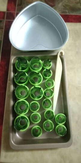 德立(DOLO) 不锈钢花型蔬菜水果切花器 饼干印花模套装 卡通宝宝蝴蝶面片压花刀切模具 8大12小全护手20件套 晒单图