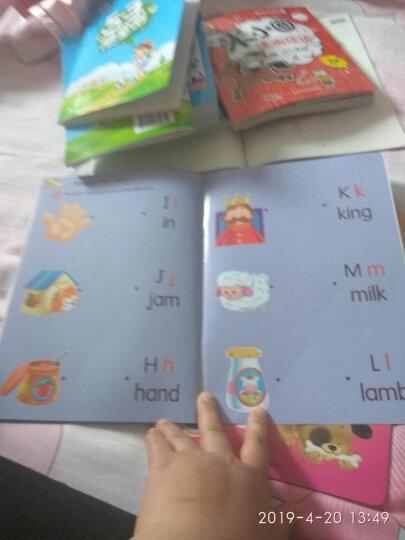 纽曼(Newsmy) 《幼儿基础英语》 情景英语教学书 点读笔有声图书教材 一套5本大书 天才宝贝纽曼点读笔专用 晒单图