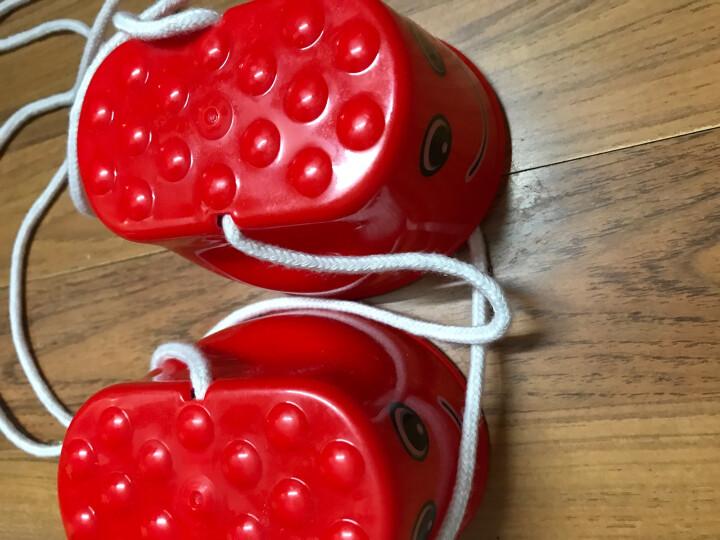 育龍(Yulong) 包邮幼儿园户外玩具笑脸 踩高跷鞋早教儿童感统平衡 训练运动体育器材 大象红色 晒单图