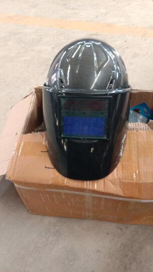 热浪新款RL-280安全帽自动变光面罩太阳能液晶面罩焊罩电焊氩弧焊 黑色 晒单图