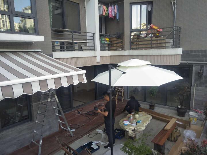 艾美佳(Airmega) 豪华加强型伸缩棚遮阳棚雨蓬门窗伸缩蓬遮阳蓬A3型 电动款电机费用加收 晒单图