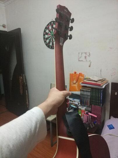 卡马 kepma41寸初学者入门民谣木吉他乐器 定制款 卡马JTC-DE复古色电箱 晒单图
